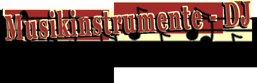 Musikinstrumente - DJ